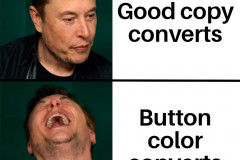 Stop with the button color