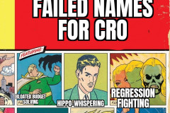 """Maybe """"CRO"""" is OK"""