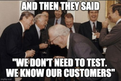 We know our customers