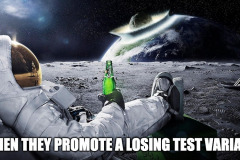 Promote a losing variant